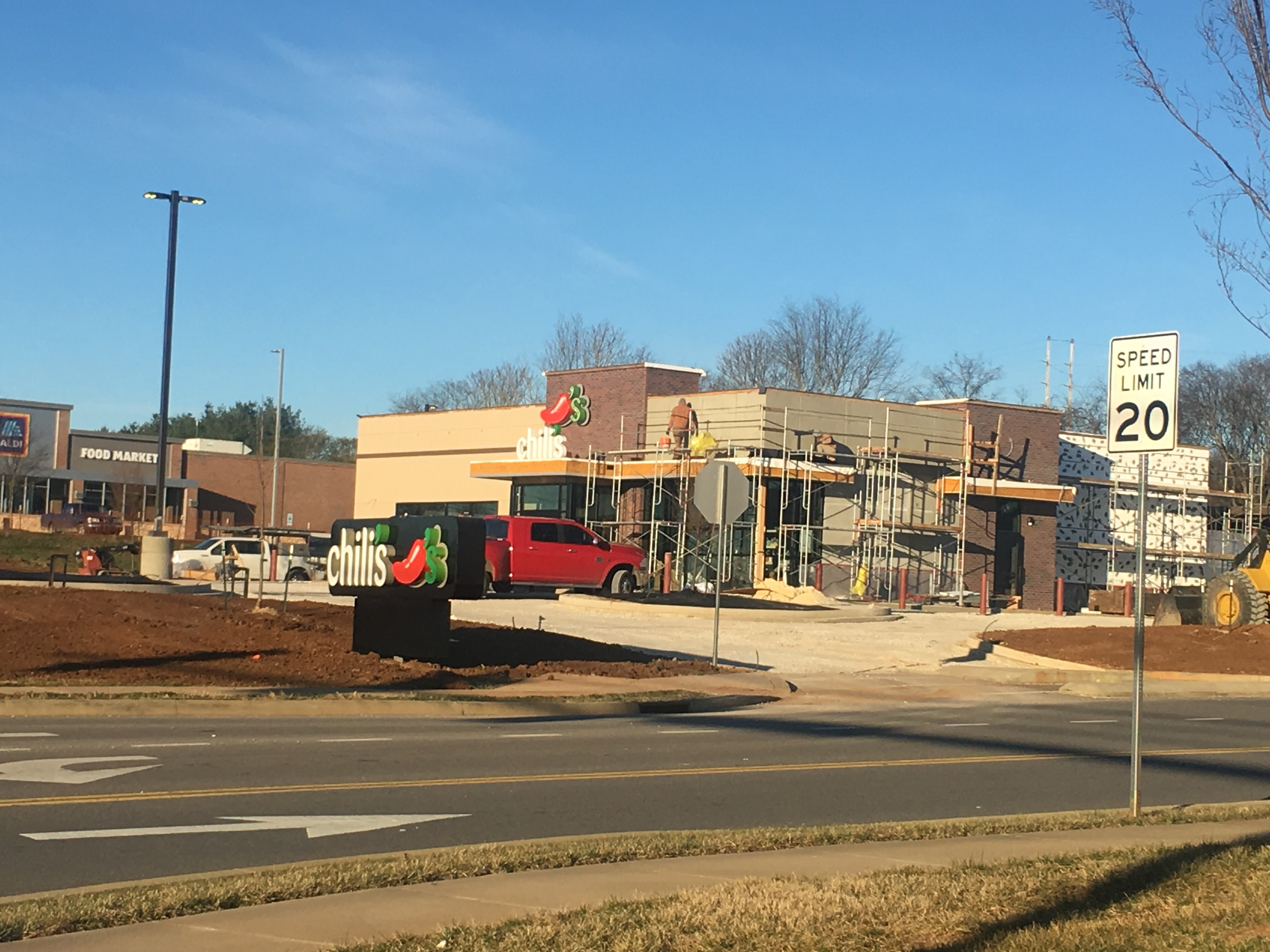 The new Chili's is slated to open in Morristown, TN at new Cherokee Crossing shopping center.