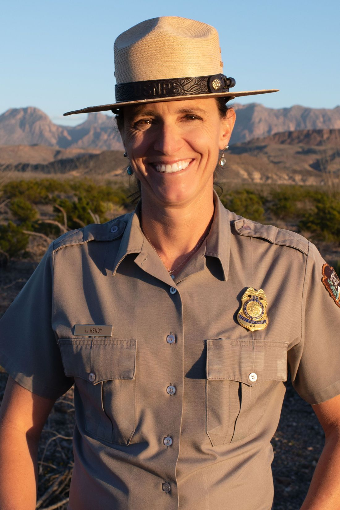 First Female Chief Ranger - Lisa Hendy will become the new Chief Ranger of the Great Smoky Mountains National Park in April.