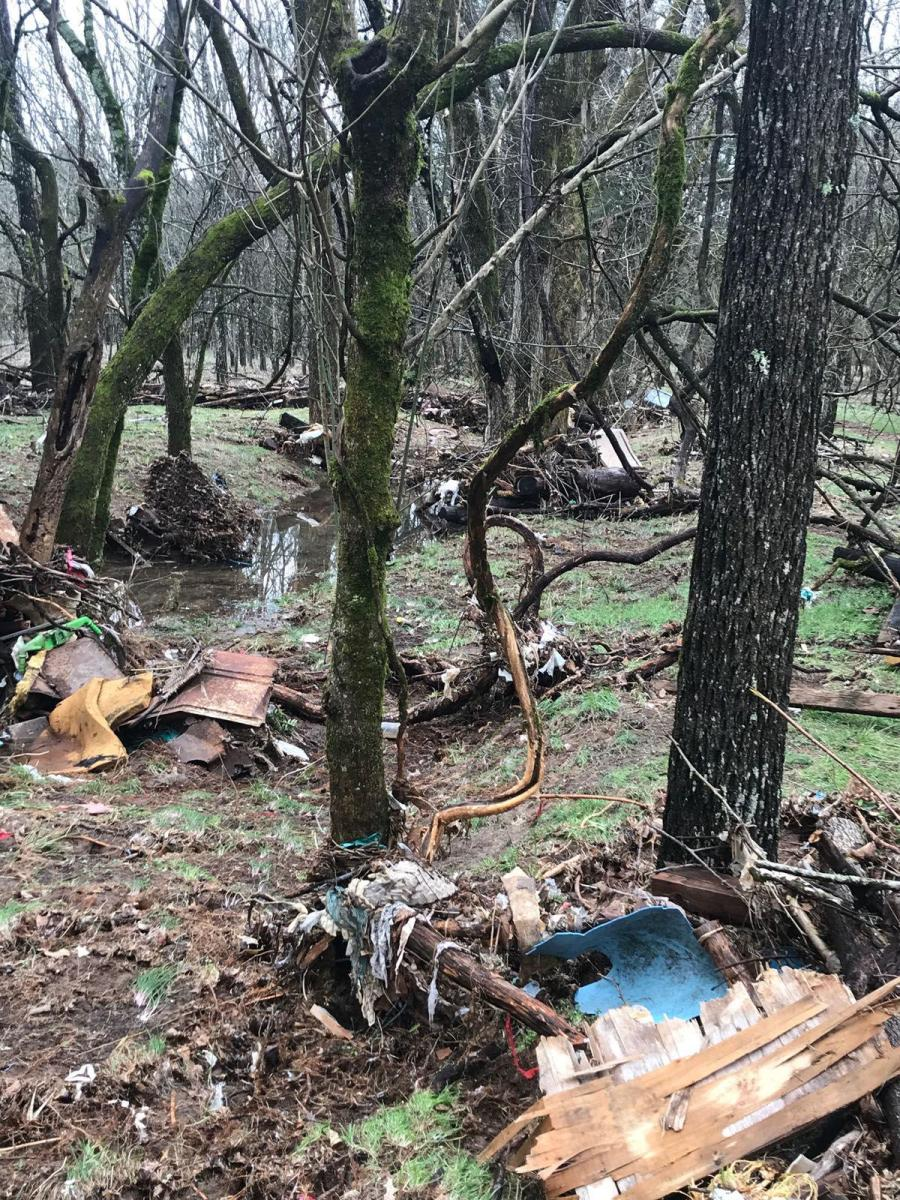 An Illegal Dump Floods Panther Creek with Trash