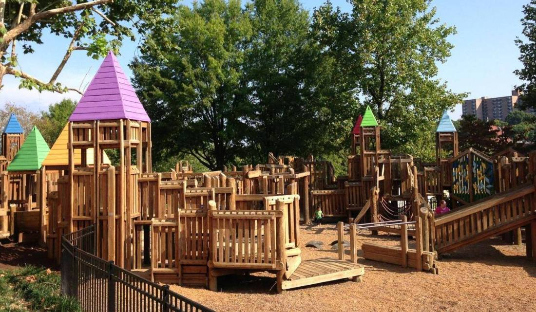 The Fort Kid playground off World's Fair Park Drive reopened Thursday, March 28, after Public Building Authority workers made necessary repairs in response to a citizen complaint and a Knox County Health Department report citing hazards.