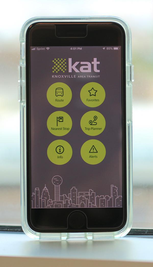 KAT Announces Real-Time Bus Tracker App