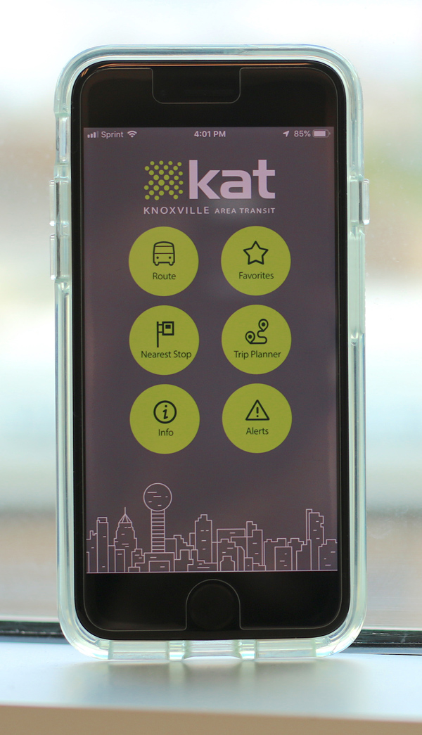 KAT Announces Real-Time Bus Tracker App