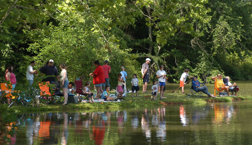 Free Fishing Day at Cove at Concord Park