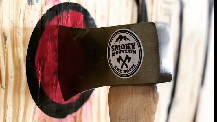 Smoky Mountain Axe House Alcoa - A new axe throwing place opened in East Tennessee in Alcoa, TN. (Smoky Mountain Axe House Photo)