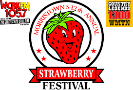Strawberry Festival - This year is the 15th Anniversary of this festival honoring strawberries. #StrawberryFestival #Morristown