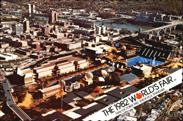 1982 World's Fair Anniversary - On May 1 in 1982, the World's Fair in Knoxville, TN opened. #WorldsFair #1982WorldsFair