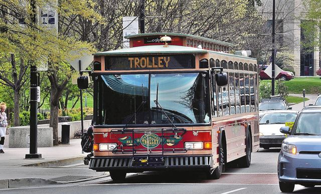 Free Red Trolley to Begin Service to South Waterfront - Knoxville Area Transit's fourth free trolley line – the new Red Line, connecting a part of the South Waterfront and downtown – is scheduled to begin service on Monday, August 19, 2019