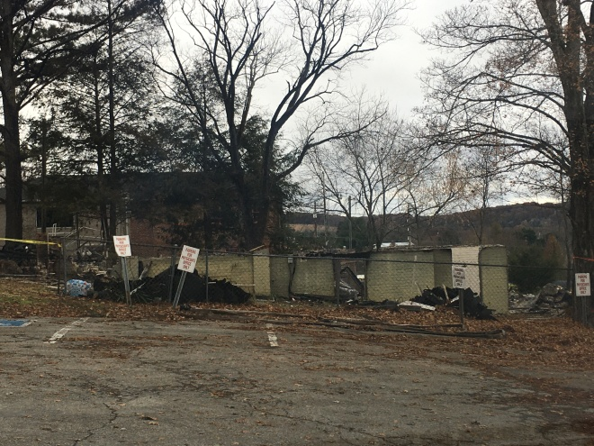 Old Samaritan House in Jefferson City burnt down
